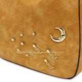 De Handtas van de Decoratie van de zon, van de Maan en van de Ster Dame Handbag Rivet Handbag