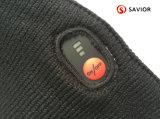 La batería del salvador calentó el sombrero que hacía punto para el uso del invierno, tocas, control elegante de la batería recargable 3-8 horas