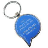 Custom дизайн печати Cute цепочке для ключей с эпоксидной
