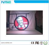 Het Neon van de Presentator van het Embleem van het Merk van de Naam van de opslag om LEIDEN Teken