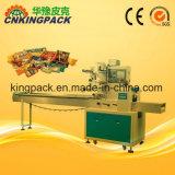 Macchina imballatrice di vendita di flusso automatico caldo del cuscino per alimento/giornalmente Applicances/Hardwar