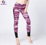 도매 유행 숙녀는 높은 허리를 가진 적당한 요가 각반을 체중을 줄인다