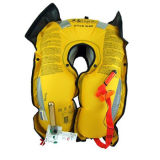 Chaleco salvavidas inflable amarillo Watersports