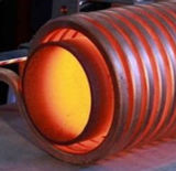 De Bout die van de staaf de Supersonische Inductie die van de Frequentie maken de Hete Machine van het Smeedstuk 25-260kw verwarmen
