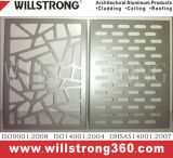 PVDF покрывая золотистую плиту алюминия зеркала