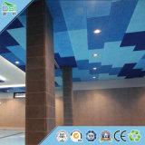 Matériaux de construction de panneau de mur de panneau de copeaux de bois d'écran antibruit