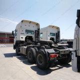 HOWO 371HP 6X4のトラクターのトラックのトレーラーヘッド索引車