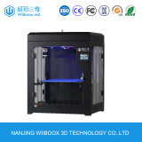 Singola stampante da tavolino 3D della stampatrice dell'ugello 3D di più grande formato