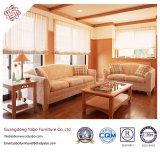 Moderne Hotel-Möbel mit den hölzernen Sofa-Möbeln eingestellt (YB-721)
