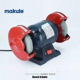 Rectifieuse électrique de banc de la machine-outil de Makute 370W 150mm de rectifieuse de cornière
