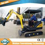 Mini-excavatrice chenillée Yrxct18, excavatrice 1800kg