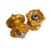 カスタムアルミニウムCNCによって機械で造られるオートバイの車輪ハブ