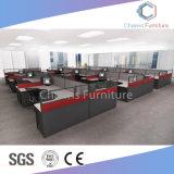 Heißer Verkaufs-wahlweise freigestellte Farben-Büro-Partition L Form-Personal-Tisch-Arbeitsplatz (CAS-W31411)