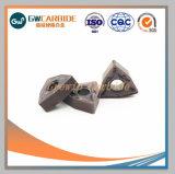 Inserts de carbure de tungstène cimenté tournant haute dureté