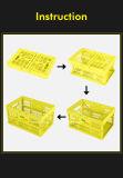 Heißer Verkaufsförderungs-faltbarer Plastikkorb