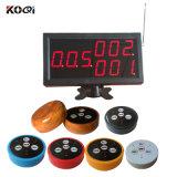 Étalage de K-4-C avec le système d'appel de service sans fil de restaurant de bouton d'appel de K-D4 4keys