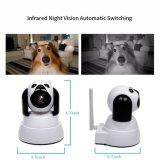 monitor esperto do bebê da câmara de segurança/animal de estimação do IP da rede de WiFi do cão de 1.0MP 720p HD dois, áudio em dois sentidos da câmera interna, visão noturna