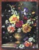 고전적인 그림 - 꽃