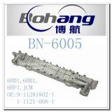 Engine 6bd1, 6bb1, 6bf1, couverture de réfrigérant à huile d'Isuzu de pièce de rechange de Jcm (9-11281802-1/1-11281-008-1) de Bonai