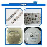 Цвет метки волокна станок для лазерной маркировки для металлических и пластиковых ПВХ