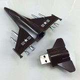 Movimentação do flash do USB do avião do metal do presente da indústria aeronáutica (YT-1262)