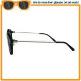 De klassieke Zonnebril van de Ontwerper met de Gepolariseerde Brug van het Metaal van de Lens