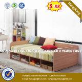 良質の木の寝台の側面柵のベッドフレームの側面柵のベッド(HX-8NR1129)