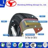 Shifengの製造業者またはタイヤコードのファブリックまたはタイヤのタイヤはさみ金ファブリックまたはタイヤの鋼鉄コードまたは下着のファブリックまたはバージンまたはビスコースにタイヤをつけるために販売されるナイロンタイヤのコードファブリックヤーン