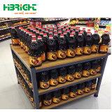 Boisson de supermarchés&Bouteille de vin Présentoir/métal racks et de détail des aliments de collation de présentoir pour la promotion d'exposition