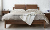 固体木のベッドの現代ダブル・ベッド(M-X2284)