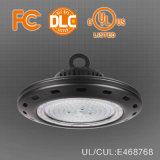 Più nuovo alto indicatore luminoso speciale della baia di prezzi 130lm/W UFO/Round 200W LED