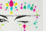 L'ente sicuro degli autoadesivi dell'occhio del partito della pelle professionale del Topaz di Hong Kong Jewels gli autoadesivi del fronte (E17)