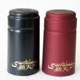 Mattschwarzes Belüftung-Wein-Flaschen-Kapsel mit Riss-Streifen