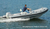 Liya 4.3m-5.2m Rettungs-Rippen-Boots-Fiberglas-steifes aufblasbares Boot