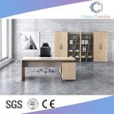 Credenza (CAS-MD18A95)를 가진 현대 간단한 사무실 테이블 L 모양 사무실 책상