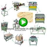 Bâton en bambou de barbecue d'encens de cerf-volant d'Agarbatti de bâton de brochette de baguettes ronde automatique de cure-dent faisant la machine