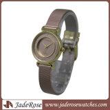 نمو نوع ذهب [روس] رفاهية إشارة ساعة نساء سيّدة مرو تصميم بسيطة رياضة ساعة