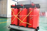 Tipo seco trifásico transformador del alambre de cobre de la fuente de alimentación de 125kVA