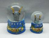 水地球のクラフトのPolyresin Cretaの記念品のクラフト