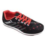 子供の女の子の偶然のスポーツは蹄鉄を打つ運動スニーカーの靴(ZJ923-4)に