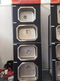 De Gootsteen van de staaf, de Enige Gootsteen van het Roestvrij staal Undermount, Keuken Smallsink 3833A