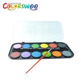 L'arte fornisce la torta di colore di acqua di 12*4.0cm, acquerello, W1240