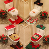 Decorazione di Closestool di natale Three-Piece (JG652)