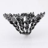 925 de zilveren Geplateerde Kleurrijke Verlovingsring van de Manier van de Juwelen van het Zirconiumdioxyde