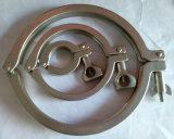 Estruendo sanitario 3A ASTM de la ISO de la abrazadera de tubo de acero inoxidable