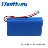 18650 bateria recarregável de 1500mAh 2p para o diodo emissor de luz da bicicleta