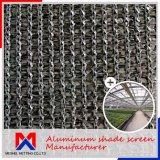 厚さ1.2mmの温室のための外アルミニウム陰のネット