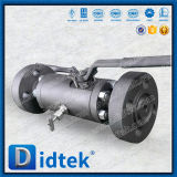 Didtek 스테인리스 두 배 구획과 블리드 공 벨브