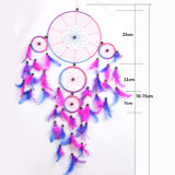 Dreamcatcher hechas a mano con el Pluma Cordón Eco friendly