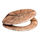 BSCI certificou o assento de toalete de madeira com revestimento do PVC e as dobradiças próximas do delicado